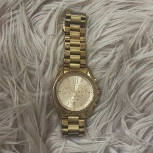 Well loved Micheal Kors Rose Gold Watch